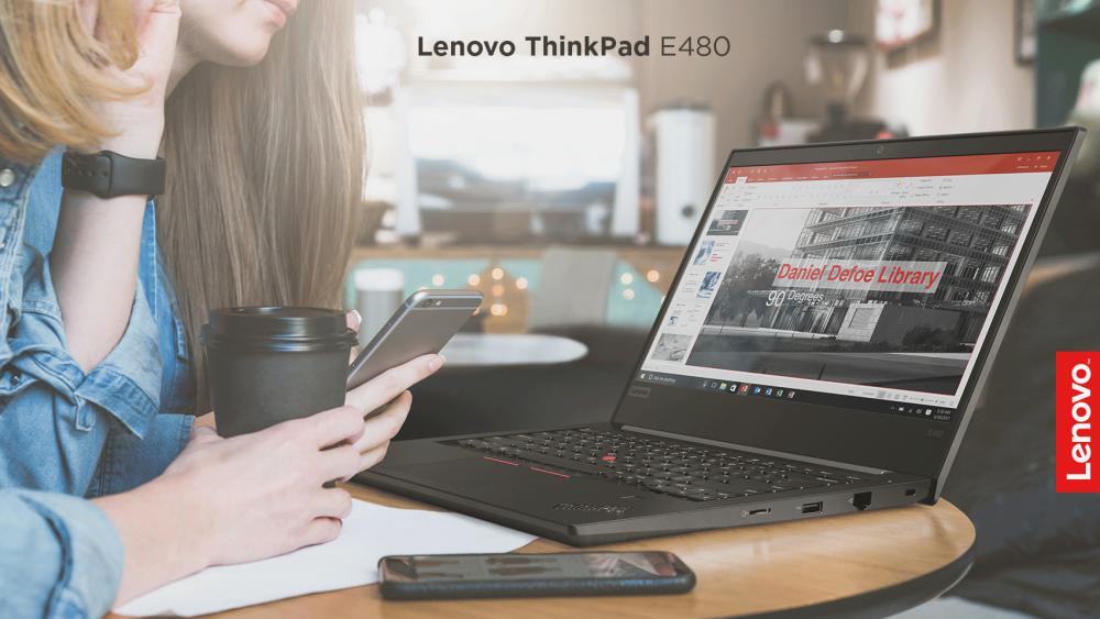 Lenovo ThinkPad E480 - Бизнис лаптоп