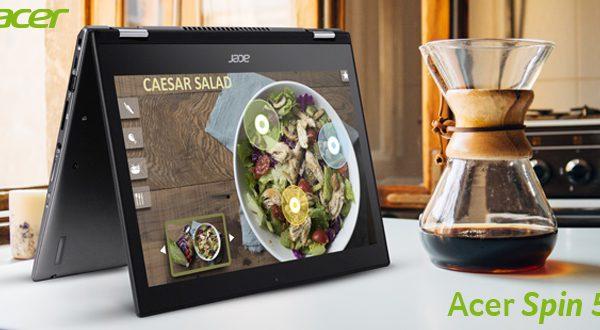 Acer Spin 5 – Лаптоп со уникатен дизајн и совршена функционалност!
