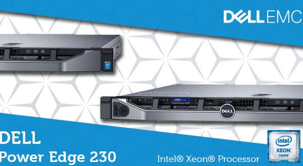 DELL PowerEdge R230 – Моќен и ефикасен сервер со неверојатна брзина на обработка на податоци!