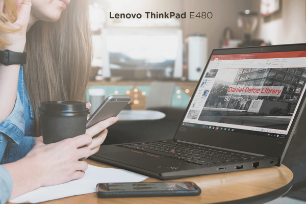 Lenovo ThinkPad E480 – Лаптоп секогаш подготвен за бизнис!
