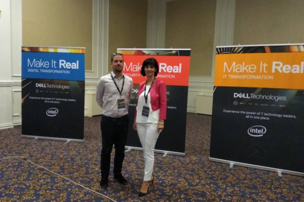 """Make It Real"" forum 2018 organized by Dell Technologies in Skopje"