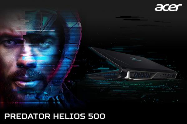 Брутално моќен и импресивен, Acer Predator Helios 500 е совршен избор за гејминг лаптоп!