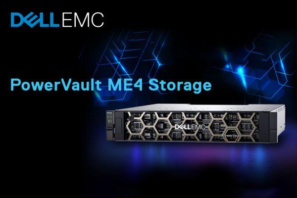 Dell EMC PowerVault ME4 – Технологија која испорачува сеопфатна едноставност, високи перформанси и голем капацитет за складирање на податоци