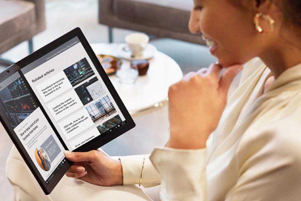 Преобликувајте ја вашата реалност со Lenovo ThinkPad X1 Fold – првиот компјутер во светот што се преклопува!