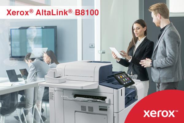 Овозможете му на вашиот тим многу повеќе од само печатење со уредите од Xerox® AltaLink® B8100 серијата!