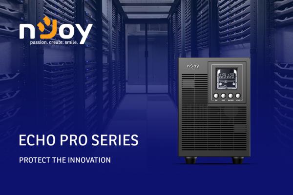 Echo Pro серијата на UPS уреди од nJoy обезбедува идеален микс од ефикасност и заштита!
