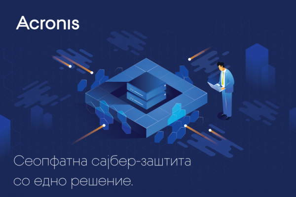 Како решенијата од Acronis обезбедуваат сеопфатна сајбер-заштита?
